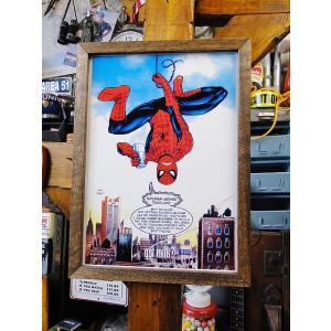 ポスターフレーム(スパイダーマン/ゴットミルク) アメリカ雑貨 アメリカン雑貨 candytower