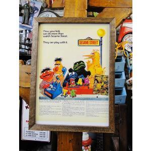 ポスターフレーム(セサミストリート/テレフォン) アメリカ雑貨 アメリカン雑貨 candytower
