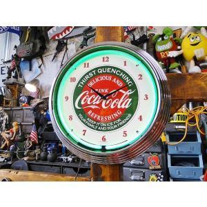【全国送料無料】【即納】【在庫あり】コカ・コーラのネオンクロック(サーストクエンチング) ■ アメリカ雑貨 アメリカン雑貨 coke|candytower