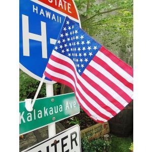 星条旗のカーフラッグ アメリカ雑貨 アメリカン雑貨|candytower