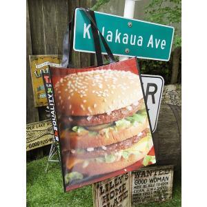 マクドナルド ビッグマック・エコバッグ アメリカ雑貨 アメリカン雑貨|candytower