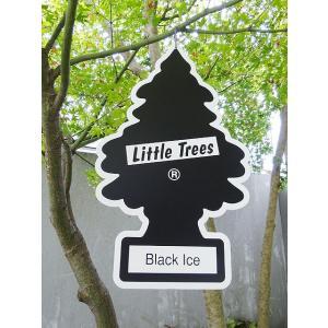リトルツリーのシーリングサイン Sサイズ(ブラックアイス) アメリカ雑貨 アメリカン雑貨 candytower