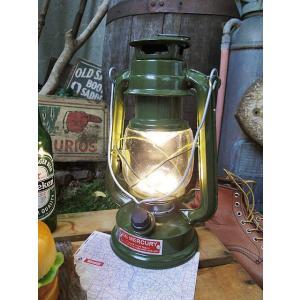 マーキュリー LEDランタン(カーキグリーン) アメリカ雑貨 アメリカン雑貨|candytower