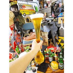 ヤードグラス Sサイズ(ウッドスタンド付き)  ■ アメリカ雑貨 アメリカン雑貨 パブ バー pub bar|candytower