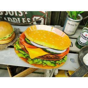 ダルトン ハンバーガーのグラスプレート アメリカ雑貨 アメリカン雑貨|candytower