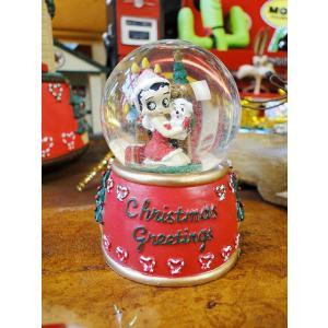 ベティ・ブープのクリスマス・ミニスノードーム アメリカ雑貨 アメリカン雑貨|candytower
