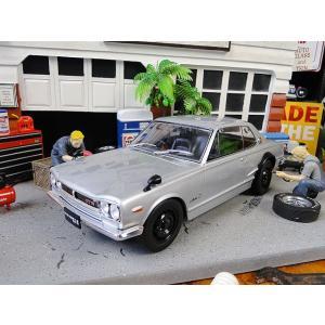 ハコスカ ニッサン スカイライン2000 GT-R(KPGC10)のダイキャストモデルカー 1/18スケール アメリカ雑貨 アメリカン雑貨 candytower