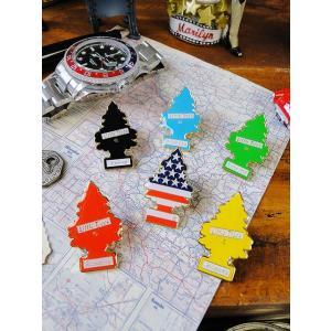 リトルツリーのエナメルピンバッジ(6種オールセット) アメリカ雑貨 アメリカン雑貨 candytower