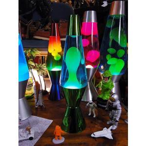Lava Lamp社 ラバライト 正規品 ラバランプ(グリーン/ブルー/メタリックグリーンボディ) アメリカ雑貨 アメリカン雑貨|candytower