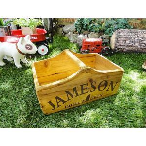 ジェムソンのハンドルウッドキャリー(Sサイズ) アメリカ雑貨 アメリカン雑貨|candytower