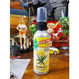 リトルツリーポンプ(バニラロマ) ■ アメリカン雑貨 アメリカ雑貨 芳香剤 エアーフレッシュナー|candytower