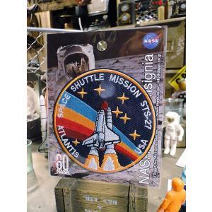 NASAオフィシャルワッペン(スペースシャトル/アトランタ) ■ アメリカン雑貨 アメリカ雑貨 candytower