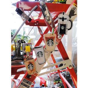 スターバックスコーヒーのアクリルマグネット 4個セット ■ アメリカン雑貨 アメリカ雑貨