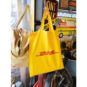 DHLノベルティエコバッグ ■ アメリカン雑貨 アメリカ雑貨|candytower