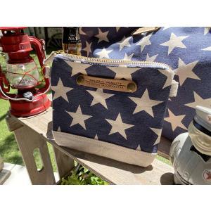 星条旗ミニクラッチバッグ ■ アメリカン雑貨 アメリカ雑貨 candytower