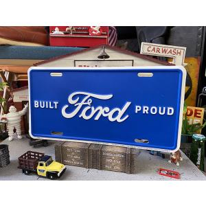 フォードのライセンスプレート(ビルドプラウド) ■ アメリカン雑貨 アメリカ雑貨|candytower