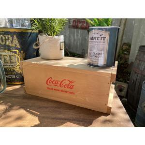 コカ・コーラ コンテナ木箱 ■ アメリカン雑貨 アメリカ雑貨|candytower