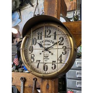 サブマリン・ステーションクロック ■ アメリカン雑貨 アメリカ雑貨 壁掛時計|candytower
