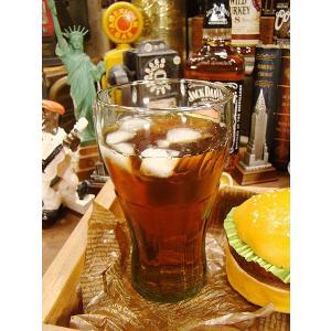 コカ・コーラ コンツアーグラス(LLサイズ) アメリカ雑貨 アメリカン雑貨 コカコーラグッズ 雑貨 グッズ ブランド Coca-Cola|candytower