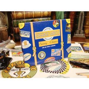 トラベルステッカーセット(サニークライムズ) アメリカ雑貨 アメリカン雑貨 鞄 トランク シール ブランド