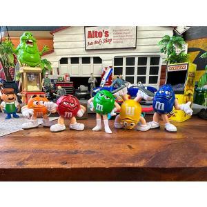 m&m's PVCフィギュア 5体セット アメリカ雑貨 アメリカン雑貨 人気 小物 インテリア ギフト おしゃれ|candytower