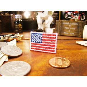 星条旗のワッペン(SSサイズ) アメリカ雑貨 アメリカン雑貨 おしゃれ candytower