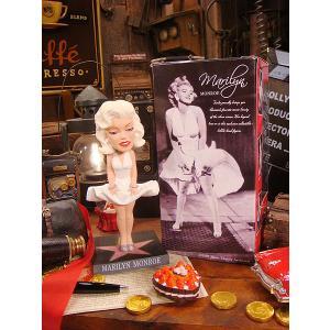 アメリカ雑貨 マリリンモンローのボビンヘッド(7年目の浮気) アメリカン雑貨|candytower