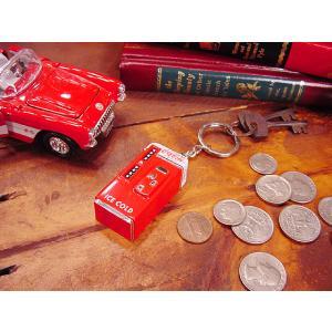 コカ・コーラブランド ベンディングマシンキーホルダー アメリカ雑貨 アメリカン雑貨|candytower