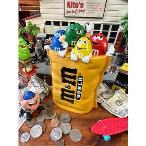 m&m'sキャラクターコインバンク アメリカ雑貨 アメリカン雑貨 貯金箱 おもしろ インテリア おしゃれ|candytower