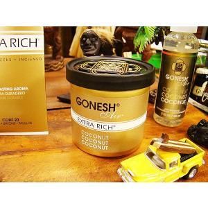 GONESH ガーネッシュ ココナッツの香り(ジェルタイプ 78g) アメリカ雑貨 アメリカン雑貨 ...