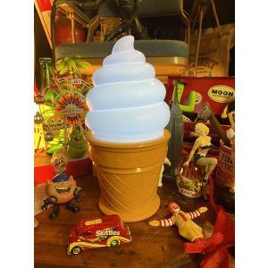 ソフトクリーム屋さんのタッチランプ アメリカ雑貨 アメリカン雑貨|candytower