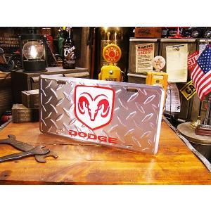 ダッジのライセンスプレート(鉄板ロゴ) アメリカ雑貨 アメリカン雑貨|candytower