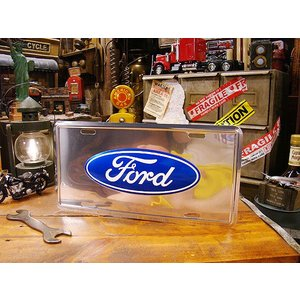フォードのライセンスプレート(アルミニウム) アメリカ雑貨 アメリカン雑貨|candytower