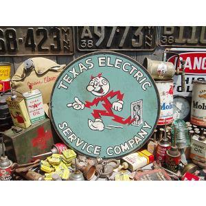 アメリカンガレージのウッドサイン(レディキロワット) アメリカ雑貨 アメリカン雑貨 所 ジョージ 世田谷 ベース グッズ 人気 壁掛け 木製看板|candytower