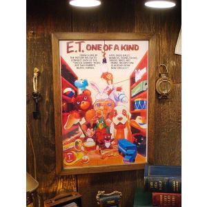 ポスターフレーム(E.T. one of a kind) アメリカ雑貨 アメリカン雑貨 おしゃれ インテリア雑貨 ポスター 人気 壁掛け|candytower