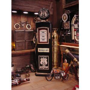ルート66のガスポンプCDタワー アメリカ雑貨 アメリカン雑貨 インテリア おしゃれな部屋 男 インテリア雑貨 ギフト 通販 人気 おもしろ雑貨 飾り棚|candytower