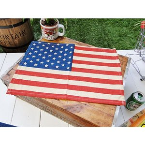 星条旗のランチョンマット アメリカ雑貨 アメリカン雑貨 おしゃれ モダン 人気