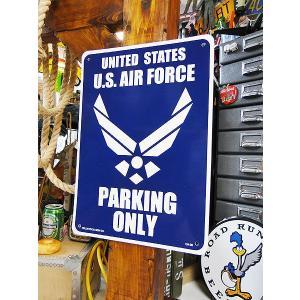 アメリカのプラスチックサインボード ヘビーオンスタイプ(米空軍専用駐車場) アメリカ雑貨 アメリカン雑貨|candytower