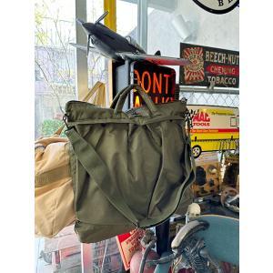 U.S.タイプヘルメットバッグ アメリカ雑貨 アメリカン雑貨 ミリタリーグッズ 人気 鞄 トートバッグ 手提げ鞄|candytower