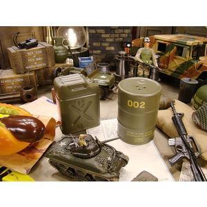 ミリタリードラム缶&ジェリ缶 S&Pセット アメリカ雑貨 アメリカン雑貨 おもしろグッズ おもしろ雑貨|candytower