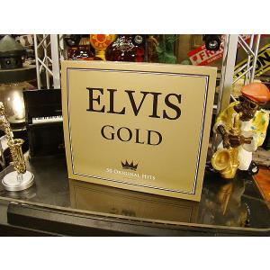 音楽CD コレ聴かずに死んだら一生の不覚・・・そんな音楽史に残る名アーティストCDシリーズ(エルヴィス・プレスリー/ゴールド)|candytower