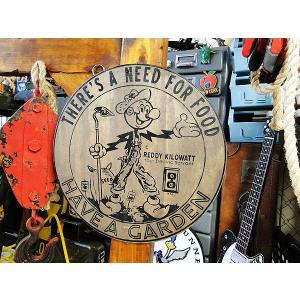 レディキロワットのウッドサイン アメリカ雑貨 アメリカン雑貨 世田谷 ベース アメリカ看板 木製看板|candytower