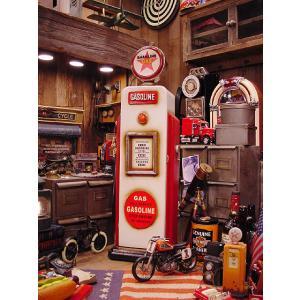 レッドスターガソリンのガスポンプCDタワー アメリカ雑貨 アメリカン雑貨 インテリア おしゃれな部屋 男 インテリア雑貨 ギフト 通販 人気 おもしろ雑貨|candytower