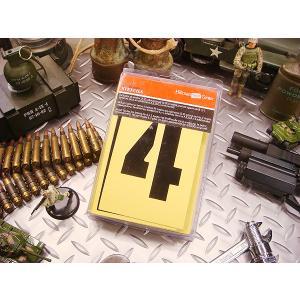 HILLMAN ペーパーステンシルプレート 47ピース英数字セット オイルコート紙タイプ(4インチ) アメリカ雑貨 アメリカン雑貨|candytower