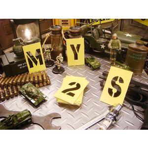 HILLMAN ペーパーステンシルプレート 47ピース英数字セット オイルコート紙タイプ(4サイズオールセット) アメリカ雑貨 アメリカン雑貨|candytower