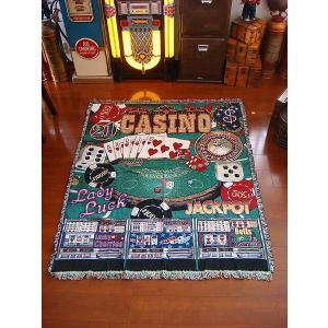 【全国送料無料】 カジノのジャイアントラグ アメリカン雑貨 アメリカ雑貨