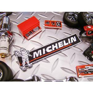 ミシュランのバナーワッペン アメリカ雑貨 アメリカン雑貨 アイロン 人気 ブランド おしゃれ バイク エンブレム candytower