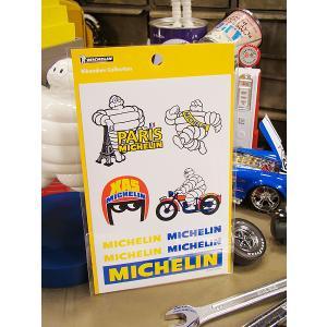 ミシュラン ステッカーセット アメリカ雑貨 アメリカン雑貨 車 シール ブランド