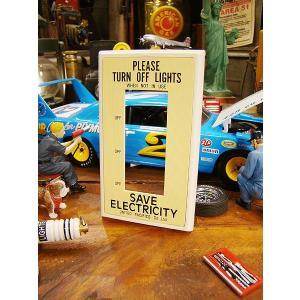 P.F.S.スイッチプレート(プラ製3個口/イエロー) コンセント対応 アメリカ雑貨 アメリカン雑貨 ブランド スイッチカバー candytower