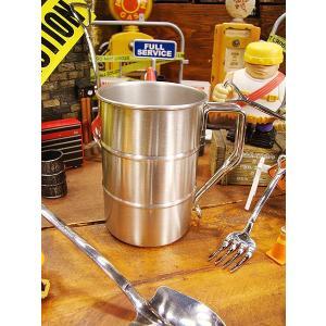 匠の技 金属加工の腕利き職人が作ったドラム缶マグ アメリカ雑貨 アメリカン雑貨 おもしろグッズ おもしろ雑貨|candytower